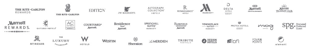 Marriott Hotel Group Logos