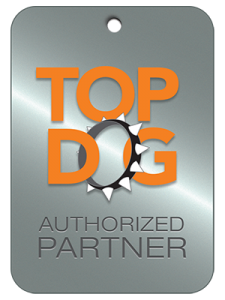 Ruckus Wireless Top Dog authorized partner logo