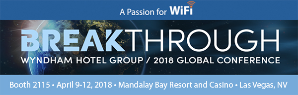 Deep Blue Communications exhibits at Breakthrough 2018 Wyndham Global Conference