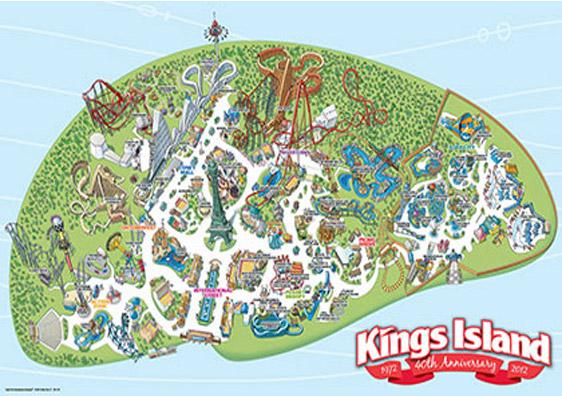 Cedar Fair Kings Island Amusement Park