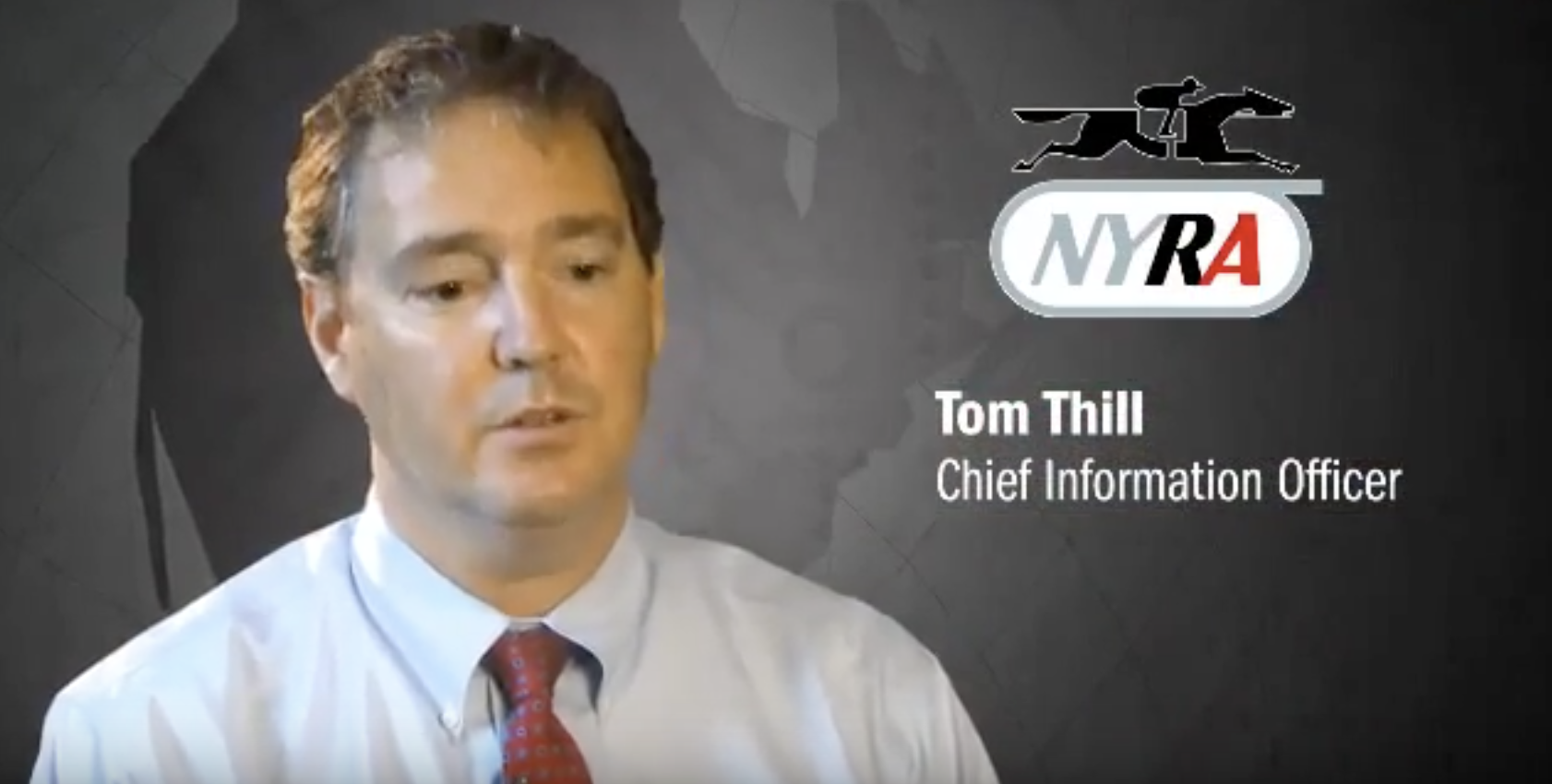Tom Thill from NYRA
