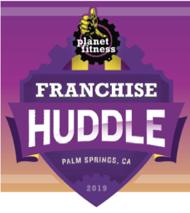Planet Fitness Huddle Logo