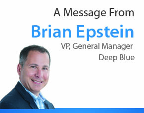 Brian Epstein, VP, General Manager, Deep Blue